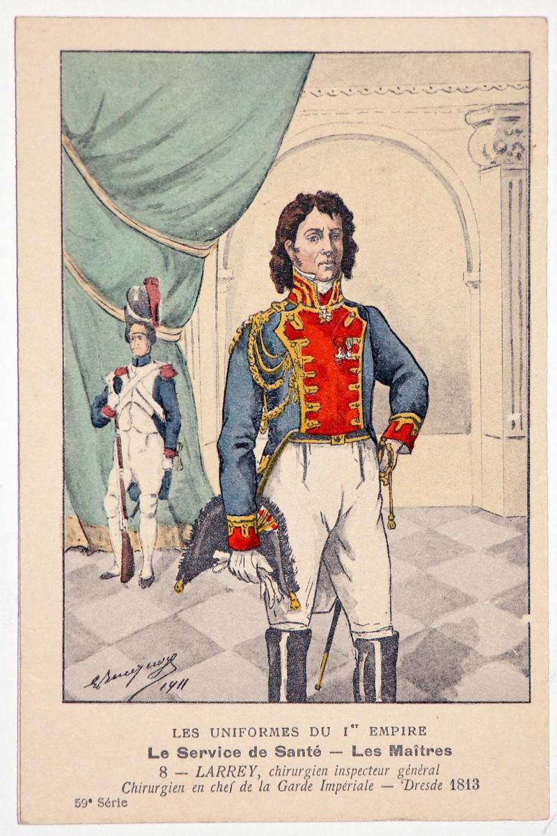 Carte Bucquoy - Les Uniformes du 1er Empire - Série 59 - Carte 8