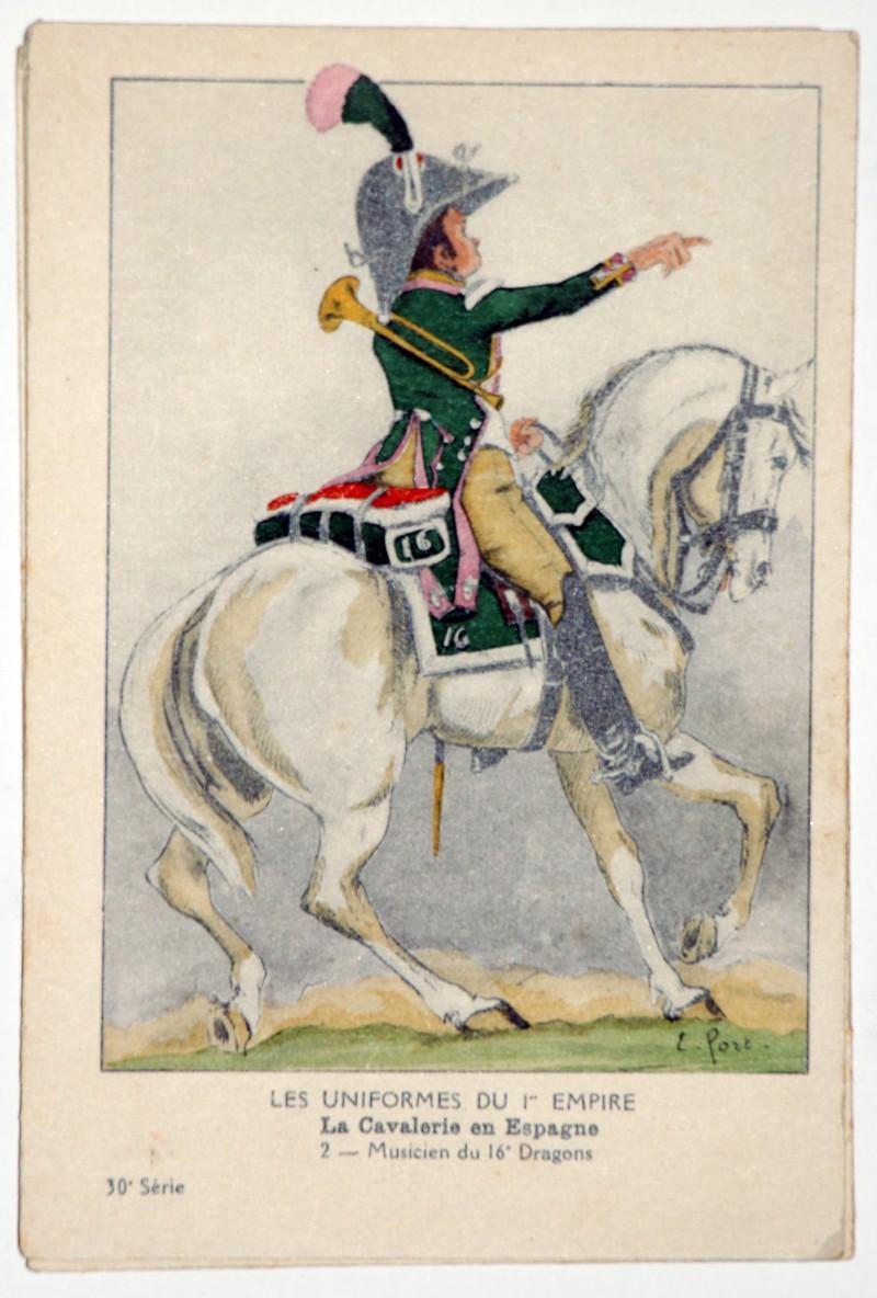 Carte Bucquoy - Les Uniformes du 1er Empire - Série 30 - Carte 2
