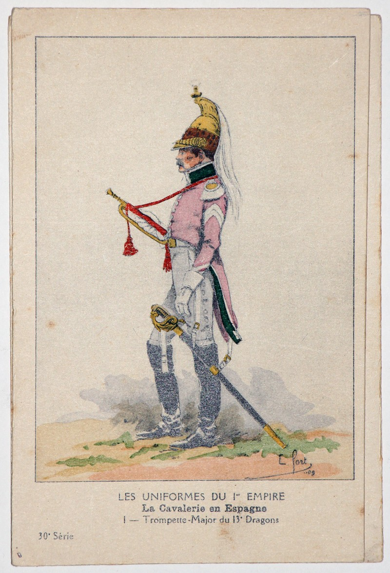 Carte Bucquoy - Les Uniformes du 1er Empire - Série 30 - Carte 1