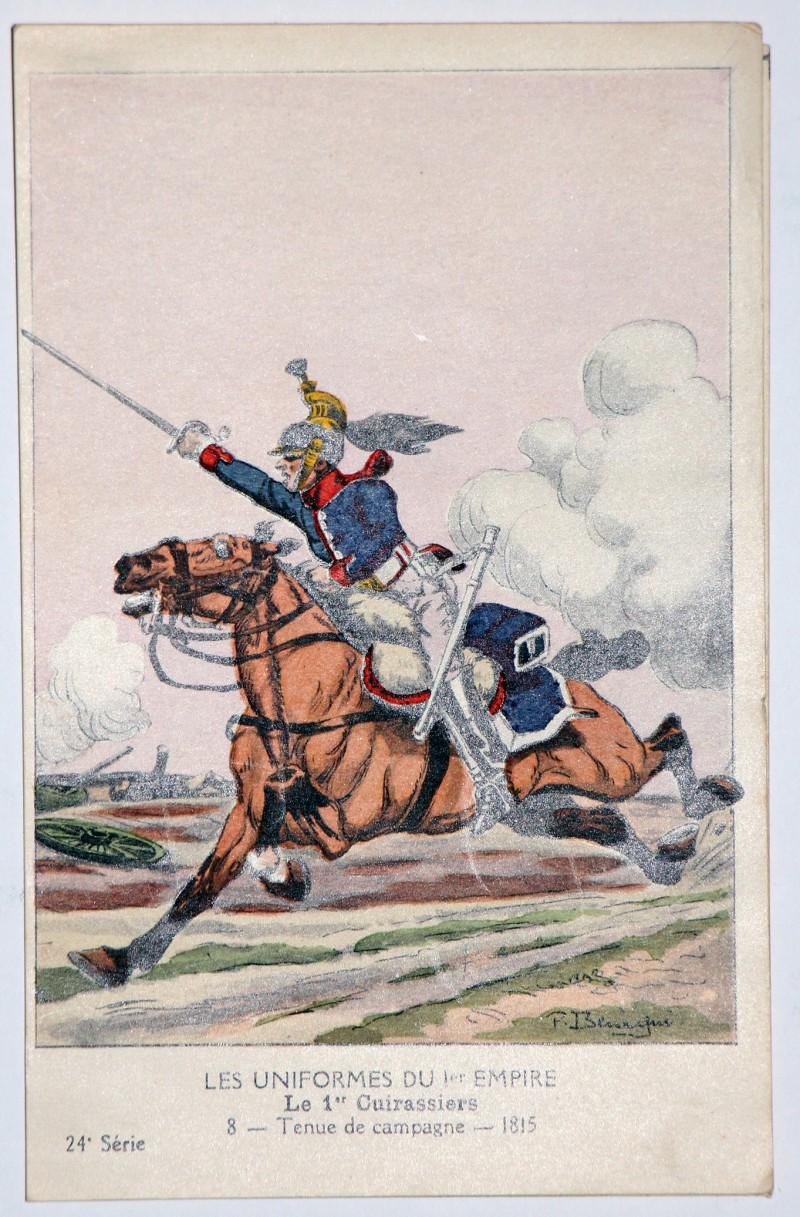 Carte Bucquoy - Les Uniformes du 1er Empire - Série 24 - Complete