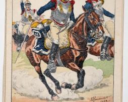 Carte Bucquoy - Les Uniformes du 1er Empire - Série 201 - N°59