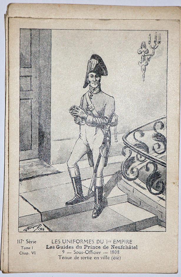 Carte Bucquoy - Les Uniformes du 1er Empire - Série 117 - N°9