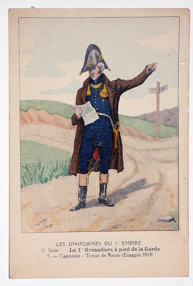 Carte Bucquoy - Les Uniformes du 1er Empire - Série 21 - N°3