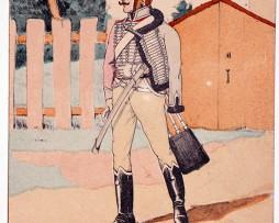 Carte Bucquoy - Les Uniformes du 1er Empire - Série 20 - N°1