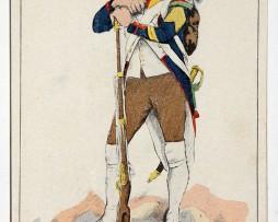 Carte Bucquoy - Les Uniformes du 1er Empire - Série 29 - Complète 8 cartes