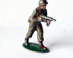 Figurines Quiralu ancienne infanterie française 1945