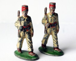 Figurines Quiralu ancienne infanterie tunisie 1940