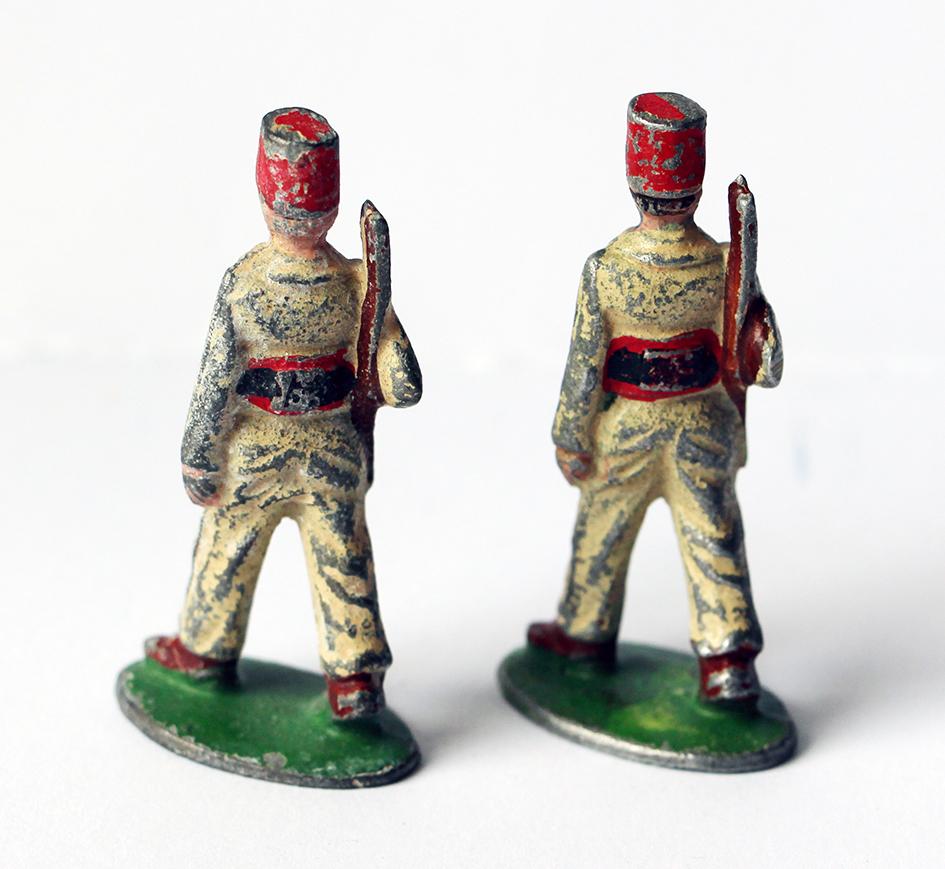 Figurines Quiralu ancienne infanterie tunisie 1940