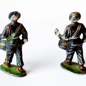 Figurines Quiralu ancienne chasseur à pied France 1940 tambour