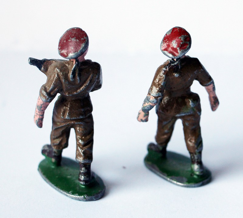 Figurines Quiralu ancienne parachutistes France 1950 Indochine