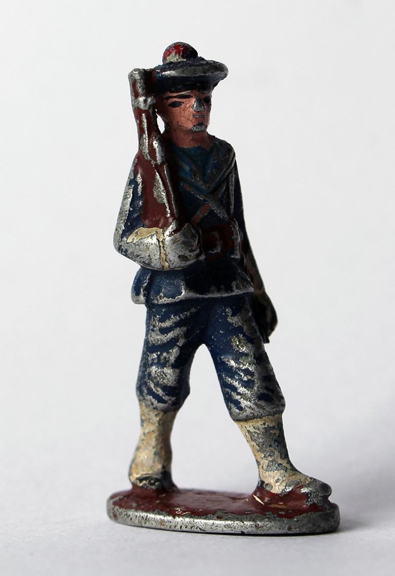 Figurines Quiralu ancienne marin français 1940