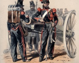 Uniforme Second Empire Artillerie - François Hippolyte Lalaisse