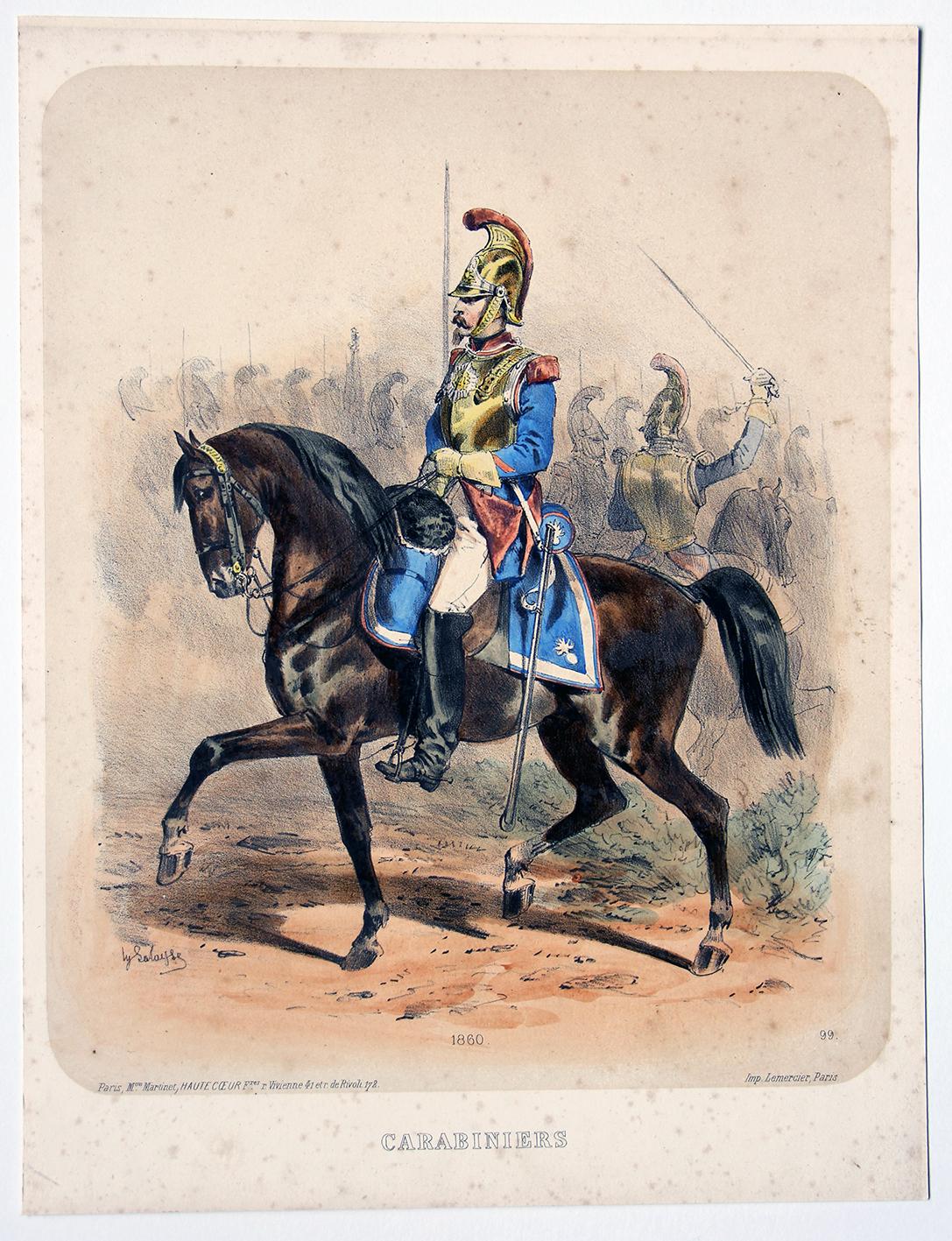Uniforme Second Empire Carabinier - François Hippolyte Lalaisse (Copier)