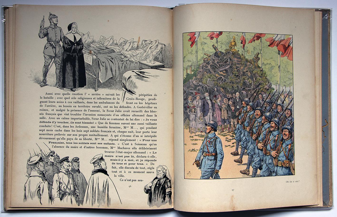 Les mots historiques du pays de France - E.Trogan - Illustations de JOB