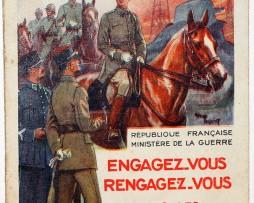 Carte postale engagement - Armée Française - 1930 - Leroux - Toussaint