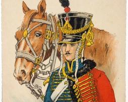 Armée Française - Hussards 4eme Régiment - 1805 - Pierre Albert Leroux