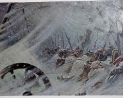 Carte Postale Retraite de Russie 1812