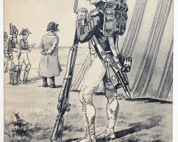 Uniforme - Grenadier Garde Impériale 1805 - Carte postale - Pierre Albert Leroux