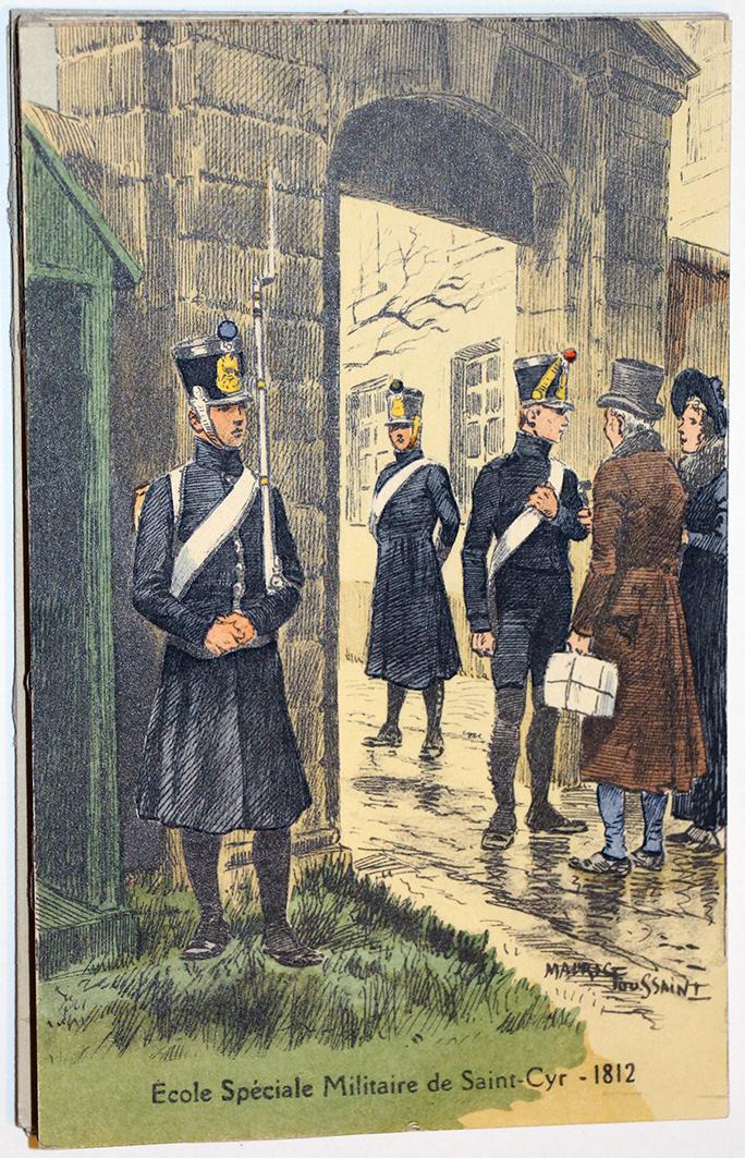 Carte Postale - Maurice Toussaint - Saint Cyr 1812