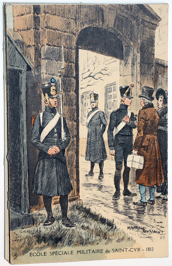 Carte Postale – Maurice Toussaint – Saint Cyr 1812