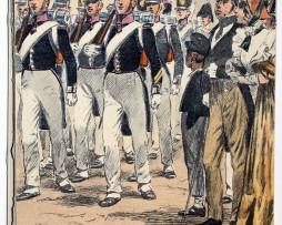 Carte Postale - Maurice Toussaint - Saint Cyr 1824