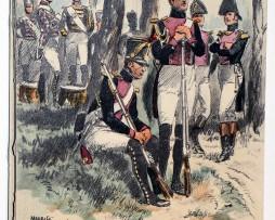 Carte Postale - Maurice Toussaint - Saint Cyr 1814