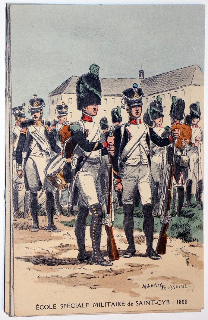 Carte Postale - Maurice Toussaint - Saint Cyr 1808