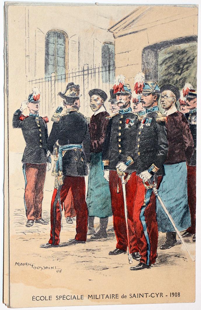 Carte Postale - Maurice Toussaint - Saint Cyr 1908