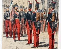 Carte Postale - Maurice Toussaint - Saint Cyr 1837