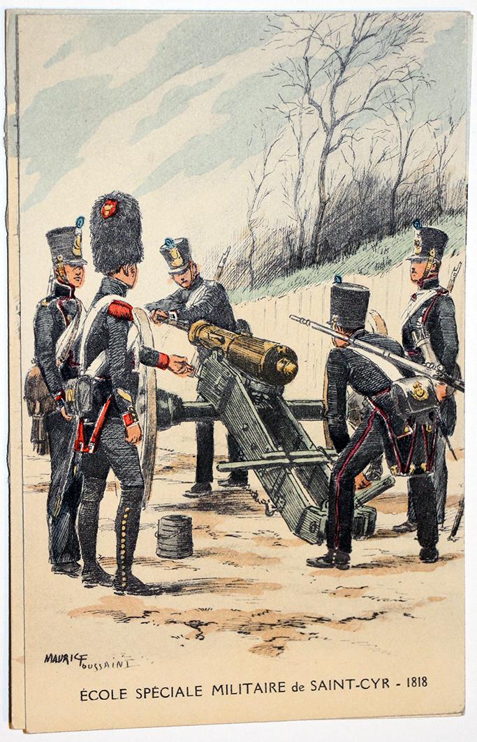 Carte Postale - Maurice Toussaint - Saint Cyr 1818