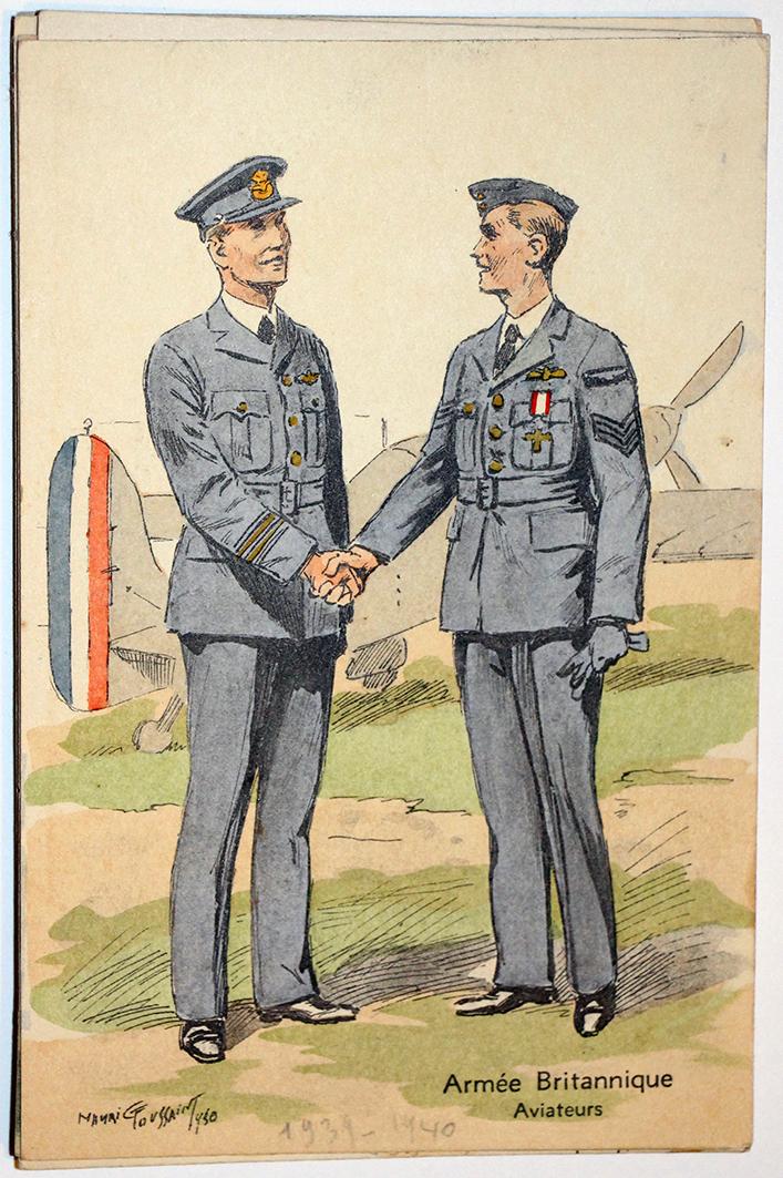 Armée Anglaise Armée de l'Air - 1939 - Maurice Toussaint