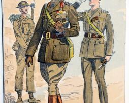 Armée Anglaise Infanterie Officier - 1939 - Maurice Toussaint