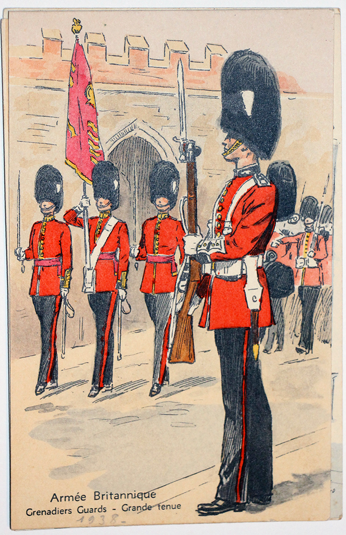 Armée Anglaise Grenadier Guards - 1939 - Maurice Toussaint