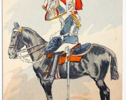 Armée Anglaise Horse Guards - 1939 - Maurice Toussaint