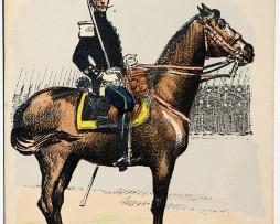 Armée Française - Chasseur Capitaine - 1905 - Charles Morel