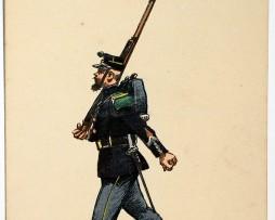 Armée Française - Chasseur Porte Fanion - 1905 - Charles Morel