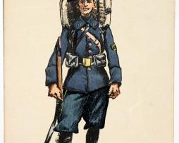 Armée Française - Chasseur Alpin - 1913 - Charles Morel