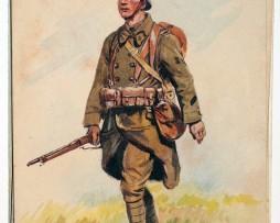 Armée Française - Infanterie de ligne - 1938 - Maurice Toussaint