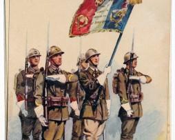 Armée Française - Infanterie de ligne - Garde du drapeau - 1938 - Maurice Toussaint