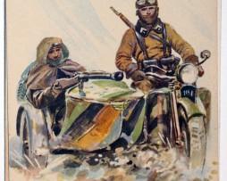 Armée Française - Cavalerie Motorisée - 1938 - Maurice Toussaint