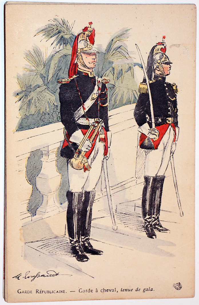 Armée Française - Garde Républicaine - Tenue de Gala - 1910 - Maurice Toussaint