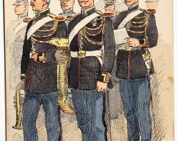Armée Française - Garde Républicaine - Musicien - 1910 - Maurice Toussaint
