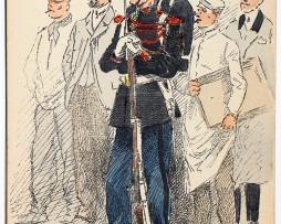 Armée Française - Garde Républicaine - Grande tenue - 1910 - Maurice Toussaint