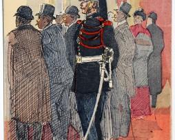 Armée Française - Garde Républicaine - Tenue de service - 1910 - Maurice Toussaint
