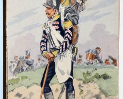 Uniforme - 10eme Léger1812 - Carte postale - Maurice Toussaint