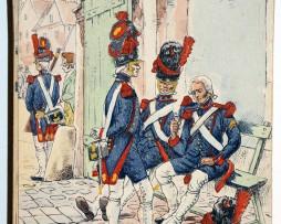 Uniforme - Artillerie de la Garde Impériale - Carte postale - Pierre Albert Leroux