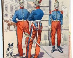 Carabiniers Grande Tenue 1833 - Uniforme - Pierre Albert Leroux