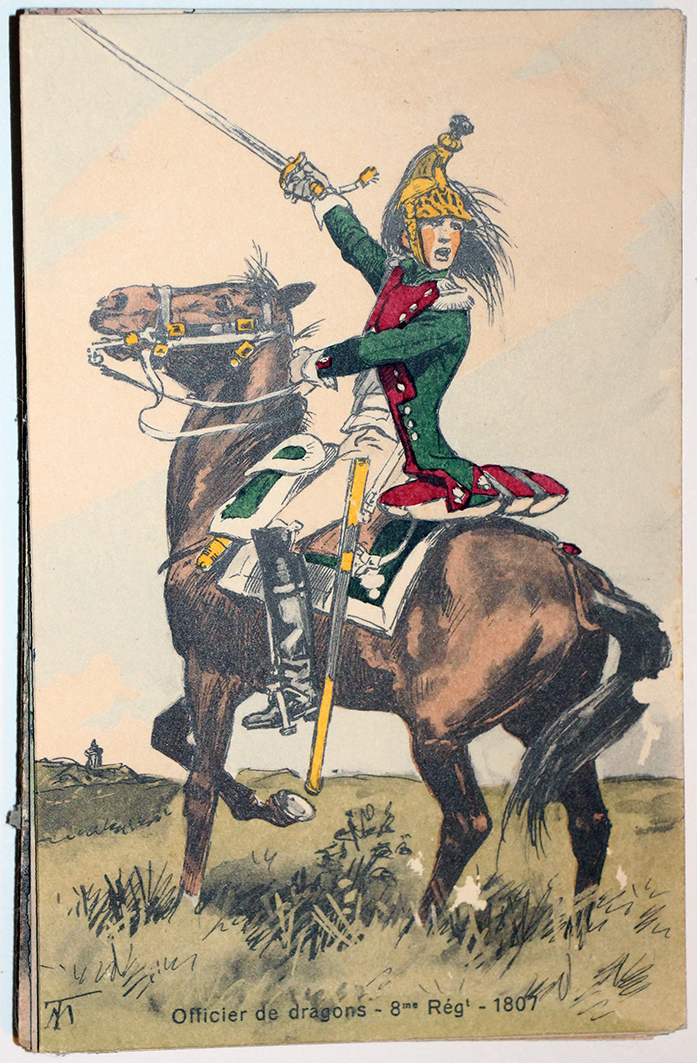 Dragons 8e 1807 - 1er Empire - Uniforme - Maurice Toussaint