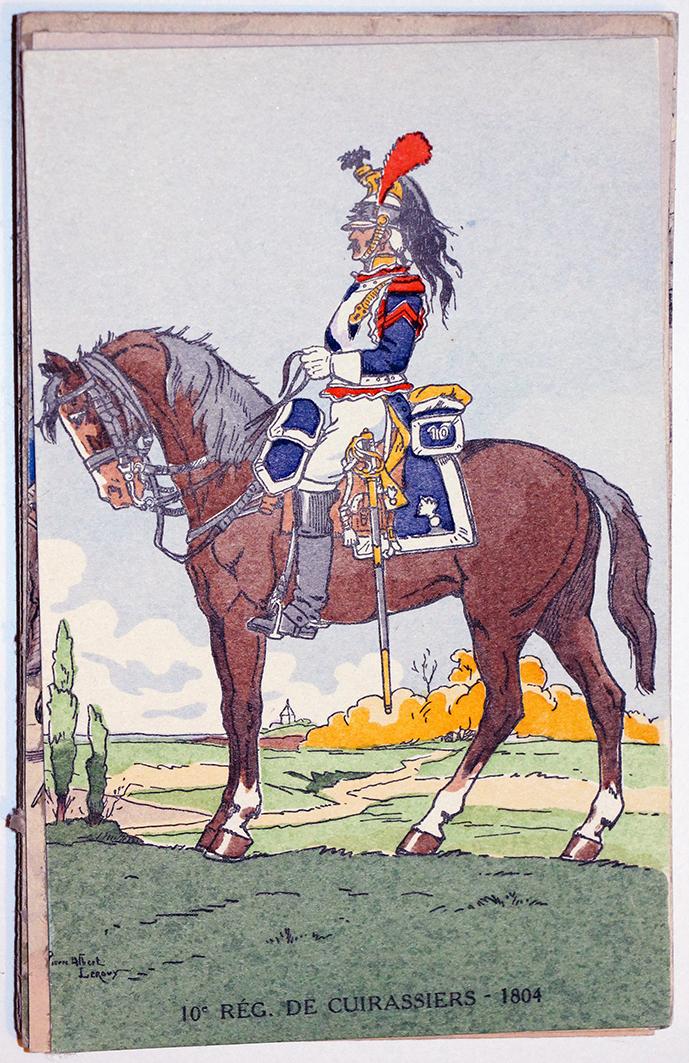 10e Régt Cuirassiers 1804 - 1er Empire - Uniforme - Pierre Albert Leroux