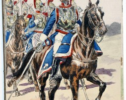 Officier Carabiniers 1835 - Uniforme - Pierre Albert Leroux